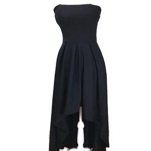 Speechless Juniors' Strapless High-Low Dress Sz 5